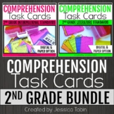 2nd Grade Comprehension Task Cards Bundle