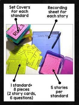 2nd Grade Comprehension Task Cards Bundle
