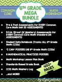 6th GRADE COMMON CORE MATH MEGA BUNDLE {Standards-Based Fu