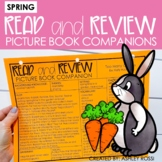 Speech Therapy Book Companions | SPRING and St. Patrick's Day