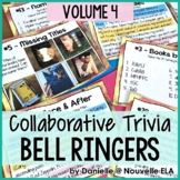 Collaborative Bell Ringers - Team Trivia, Puzzles, and Riddles - Volume 4