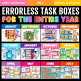 PRE-SALE: Errorless Learning Task Boxes for the ENTIRE YEA