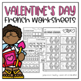 French Valentine's Day Worksheets   cahier d'activités St-Valentin