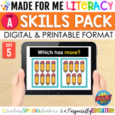 Made For Me Literacy Digital Skill Practice (Level A: Set 5)