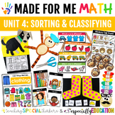 Unit 4: Sorting and Classifying (Made For Me Math)