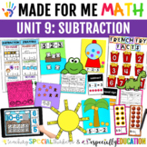 Unit 9: Basic Subtraction (Made For Me Math)