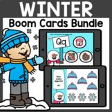 Winter Boom Cards Bundle | January Boom Cards Distance Learning