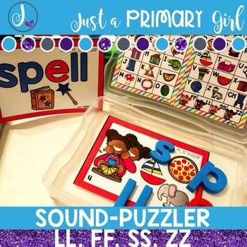 Word Family Centers - Puzzler Bundle 2