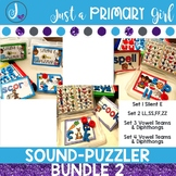 Word Family {Magnetic Letter Centers} - Bundle 2