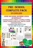 PRE-SCHOOL COMPLETE PACK