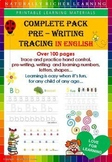 COMPLETE PACK   PRE - WRITING, TRACING