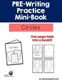 PRE-Writing Practice Mini-Book - Circles (Autism, PreK, K,