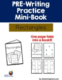 PRE-Writing Practice Mini-Book - Rectangles (Autism, PreK,