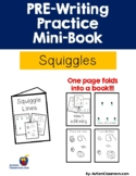 PRE-Writing Practice Mini-Book- Squiggles -(free sample) (