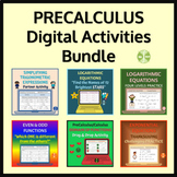 PRECALCULUS Digital Resources Bundle - Distance Learning