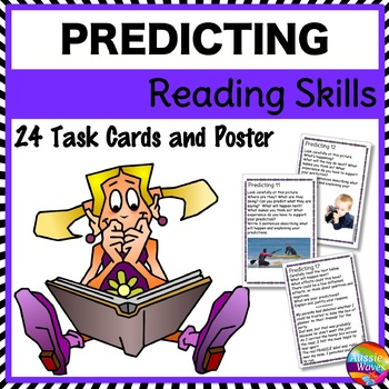 PREDICTING Task Cards to Improve READING COMPREHENSION SKILLS