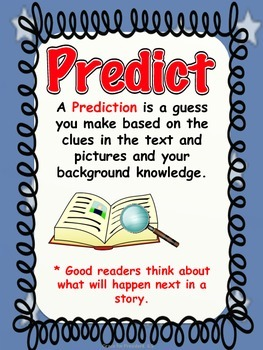 PREDICTION TASK CARDS