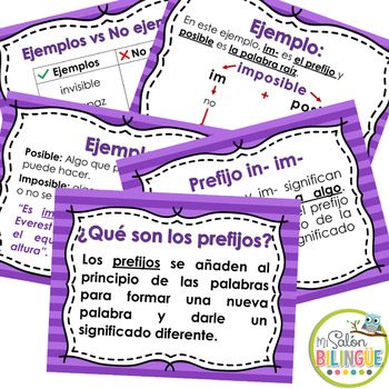 PREFIJOS -IM -IN en español - PREFIXES IN SPANISH