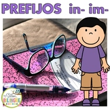 PREFIJOS -IM -IN en español - PREFIXES IN SPANISH
