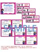 PREFIJOS Y SUFIJOS BUNDLE-Prefijos Task Cards-Sufijos Task Cards-Games