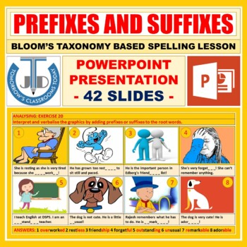 PREFIXES AND SUFFIXES: READY TO USE LESSON PRESENTATION