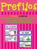 PREFIXES IN SPANISH / PREFIJOS EN ESPAÑOL