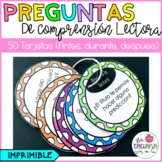 PREGUNTAS DE COMPRENSIÓN LECTORA/ READING COMPREHENSION QUESTIONS IN SPANISH