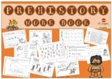PREHISTORY WORKBOOK (Spanish) / LIBRO DE TRABAJO (fichas español)