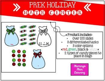 PREK Holiday Math Center