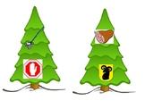 PREK Kinder Unit Theme Christmas tree Rhyming Words