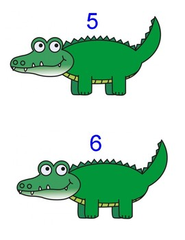 PREK THEME healthy teeth/eating, all about me, counting, making sets, alligator
