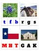 PREK Theme Rodeo Beginning Sounds Vocabulary Clothespins or Erasers