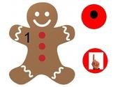 PREK Unit Gingerbread, Holidays, Christmas matching subiti