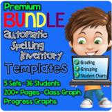 PREMIUM BUNDLE Spelling Inventory Templates
