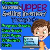 PREMIUM Upper Automatic Spelling Inventory Template