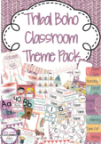 Tribal Boho Classroom Decor Pack