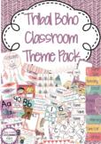 Tribal Boho Classroom Decor Pack