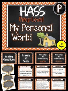 PREP.  HASS – Aus curric Learning Goals & Success Criteria