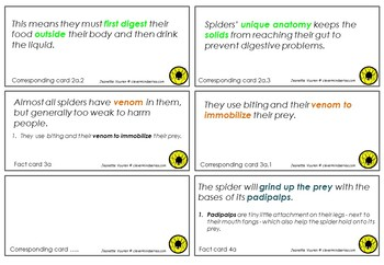 PREP - YEAR 6 ACTIVITIES - LITERACY RESOURCES - FACTS ABOUT SNAKES & SPIDERS