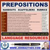 PREPOSITIONS HANDOUTS