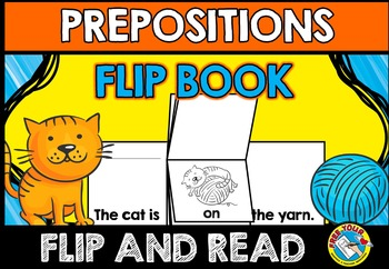 PREPOSITIONS ACTIVITY (FLIP BOOK)
