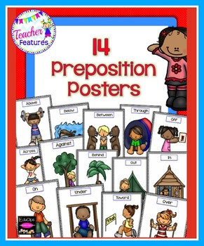 PREPOSITIONS POSTERS