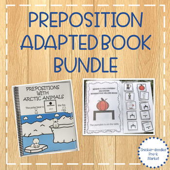 PREPOSITIONS ADAPTED BOOKS & ACTIVITIES