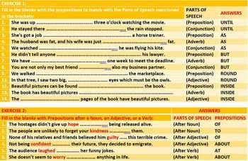PREPOSITIONS OF AGENT MEASURE SOURCE POSSESSION CAUSE LESSON RESOURCES