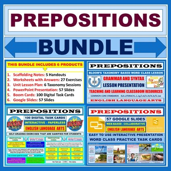 PREPOSITIONS BUNDLE