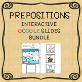 PREPOSITIONS GOOGLE SLIDES BUNDLE
