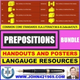 PREPOSITIONS HANDOUTS BUNDLE