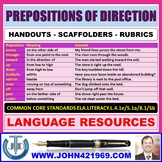 PREPOSITIONS OF DIRECTION HANDOUTS
