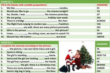PREPOSITIONS OF PLACE LESSON AND RESOURCES