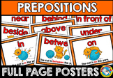 PREPOSITION POSTERS WITH CAT AND YARN: CLASS DECOR + GRAMMAR AIDS
